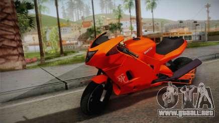 GTA 5 Hakuchou Drag para GTA San Andreas