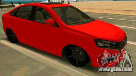 Lada Vesta BPAN para GTA San Andreas