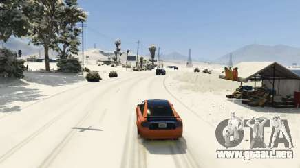 Christmas in Singleplayer (Snow Mod) 1.01 para GTA 5