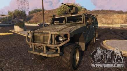 GAZ Tiger para GTA 5