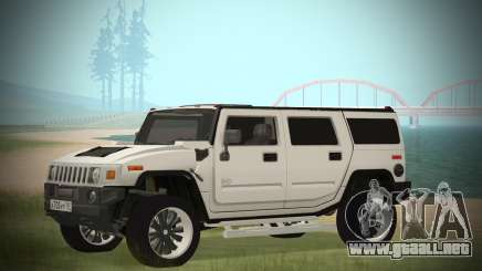 Hummer H2 Loud Sound para GTA San Andreas