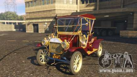 Ford T 12 model 1 para GTA 5