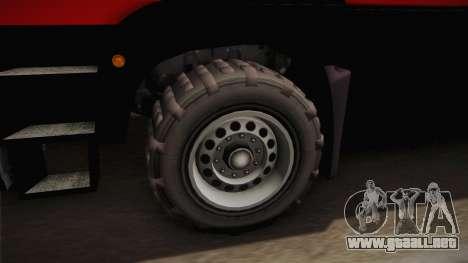 GTA 5 MTL Dune IVF para GTA San Andreas vista hacia atrás