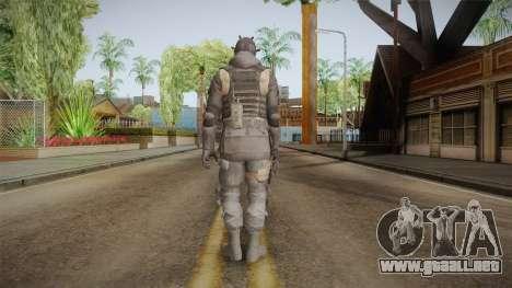 CoD 4: MW Remastered SAS v6 para GTA San Andreas