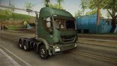 Iveco Trakker Hi-Land 6x4 Cab High v3.0 para GTA San Andreas