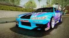 Nissan Silvia S15 Cirno Touho Project Itasha para GTA San Andreas
