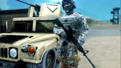 New Military USA Skin para GTA San Andreas