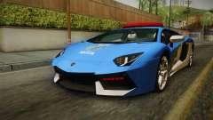 Lamborghini Aventador LP700-4 PMERJ para GTA San Andreas