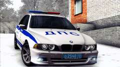 BMW E39 540i Russian Police