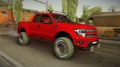 Ford F-150 Raptor 2014 para GTA San Andreas