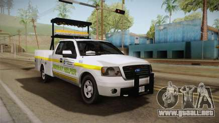 Ford F-150 2005 San Andreas DOT Highway Helper para GTA San Andreas