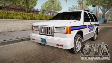 Albany Landstalker 1992 Flint County Sheriff para GTA San Andreas