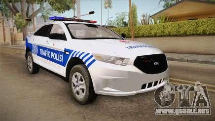 Ford Taurus Turkish Traffic Police para GTA San Andreas