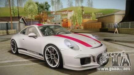 Porsche 911 R (991) 2017 v1.0 Red para GTA San Andreas