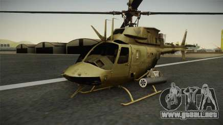 OH-58D Croatian Air Force para GTA San Andreas