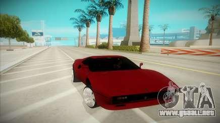 Ferrari F-512 para GTA San Andreas