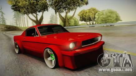 Ford Mustang Fastback 289 Wide Body 1966 para GTA San Andreas