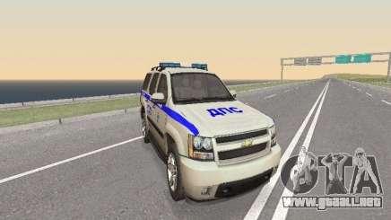 Chevrolet Tahoe Policía DPS para GTA San Andreas