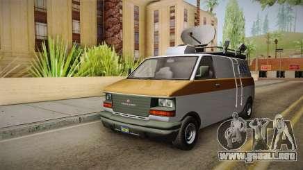 GTA 5 Declasse Burrito News para GTA San Andreas