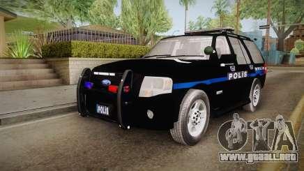 Ford Ranger Police para GTA San Andreas