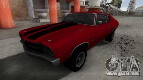 1970 Chevrolet Chevelle SS para GTA San Andreas
