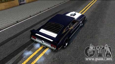 Ford Mustang Boss 557 para GTA San Andreas