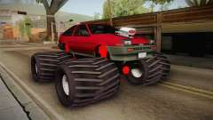Toyota Corolla GT-S Monster Truck para GTA San Andreas