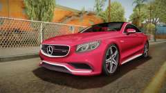 Mercedes-Benz S63 AMG Coupe 2015 v2 para GTA San Andreas
