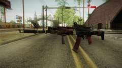 Battlefield 4 - AK-12 para GTA San Andreas