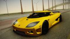 Koenigsegg CCXR para GTA San Andreas