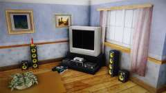 Entertainment System para GTA San Andreas