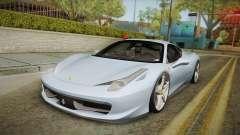 Ferrari 458 Italia FBI para GTA San Andreas