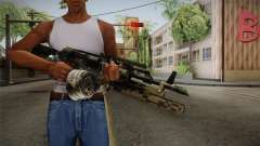 AK-47 with M203 para GTA San Andreas