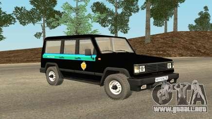 La UAZ 3170 FSB v0.1 para GTA San Andreas