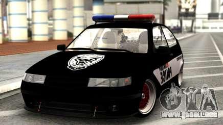 VAZ 2112 DE LA POLICÍA para GTA San Andreas