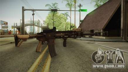 Battlefield 4 - HK416 para GTA San Andreas
