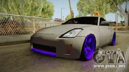 Nissan 350Z Drift para GTA San Andreas