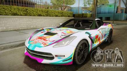 Chevrolet Corvette Z51 C7 2014 GOODSMILE Racing para GTA San Andreas
