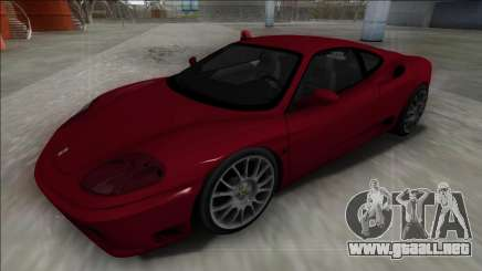 Ferrari 360 Modena FBI para GTA San Andreas