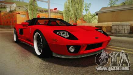 Ford GTX1 FBI para GTA San Andreas