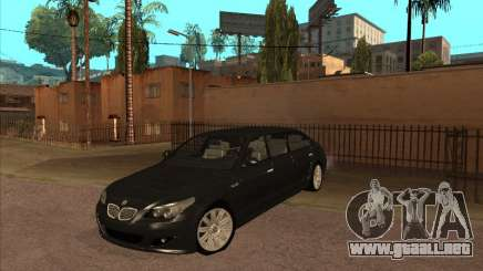BMW M5 Limousine para GTA San Andreas
