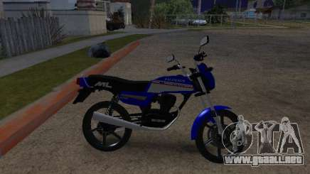 Honda ML-125 para GTA San Andreas