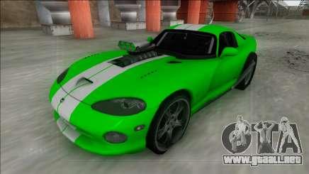 Dodge Viper GTS Drag para GTA San Andreas