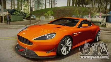 Aston Martin Virage 2012 para GTA San Andreas