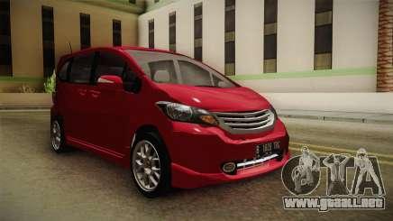 Honda Freed 2014 para GTA San Andreas