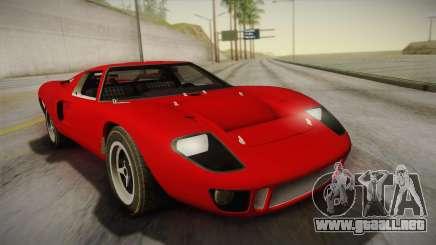 Ford GT40 TwinTurbo para GTA San Andreas