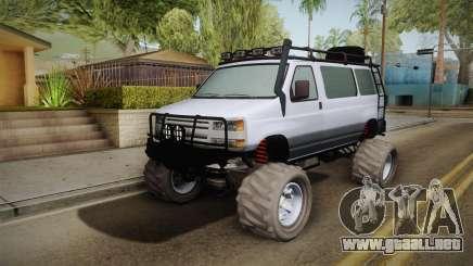 Bravado Rumpo Custom para GTA San Andreas