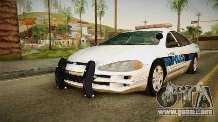 Dodge Intrepid 2001 El Quebrados Police para GTA San Andreas