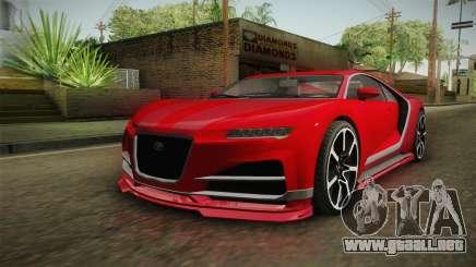 GTA 5 Truffade Nero IVF para GTA San Andreas