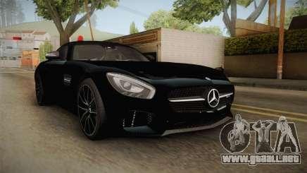 Mercedes-Benz AMG GT FBI 2016 para GTA San Andreas